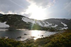 Bulgaria Rila - siete lagos Foto de archivo libre de regalías