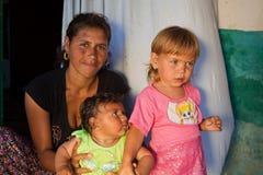 Bulgaria Roma gypsy mother Stock Photo