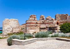Bulgaria.Ruins of ancient church.  Nesebr Royalty Free Stock Images