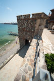 Bulgaria. The ruins of the ancient in Sozopol Royalty Free Stock Photography