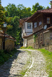 Bulgaria. Rural street Stock Photos