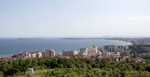 Bulgaria Saint Vlas General View Royalty Free Stock Photos