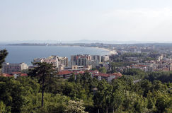 Bulgaria Saint Vlas General View Royalty Free Stock Images