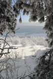 bulgaria sceny zima Obraz Royalty Free