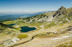 Bulgaria, seven Rila lakes Stock Photos