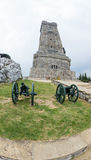 Bulgaria. Shipka. Cannon. Monument Royalty Free Stock Image