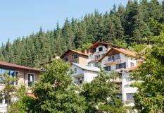 Bulgaria. Smolyan. Mountain architecture Royalty Free Stock Image