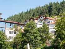 Bulgaria. Smolyan - the town in the woods Royalty Free Stock Images