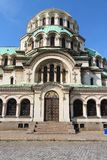 Bulgaria - Sofia cathedral Stock Photo