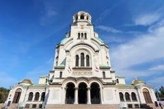 Bulgaria - Sofia cathedral stock photography