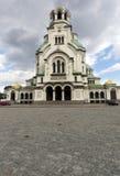 Bulgaria Sofia Cathedral Nevsky. Alexander Nevsky Cathedral in capital city Sofia in Bulgaria Royalty Free Stock Photography
