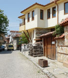 bulgaria sozopoltown Royaltyfri Bild