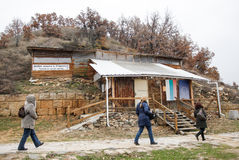 Bulgaria Starosel Thracian Sanctuary Stock Image