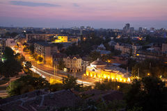Bulgaria. Sunset in the city of plovdiv Stock Photos