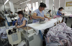 Bulgaria Tailors Clothing Factory royalty free stock image