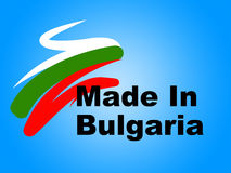 Bulgaria Trade Shows Made In And Commerce Royalty Free Stock Images