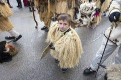 Bulgaria Traditional Masquerade Games Royalty Free Stock Image