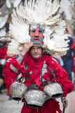 Bulgaria Traditional Masquerade Games Royalty Free Stock Images