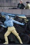 Bulgaria Ukraine Soviet Army Monument Graffiti Royalty Free Stock Photo