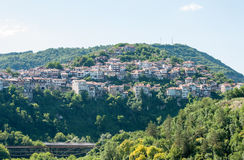 Bulgaria. Veliko Tarnovo. Veliko Tarnovo - the old capital of Bulgaria. The city is located at the intersection of strategic roads, and is rich in historical Stock Image