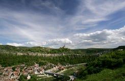 Bulgaria Veliko Tarnovo Panoramic View. Panoramic view of Bulgarian town Veliko Tarnovo Royalty Free Stock Image