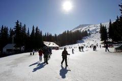 Bulgaria Vitosha Ski Tourism Imagen de archivo