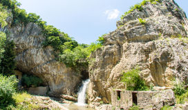 Bulgaria, Waterfall on the Dryanovo River Royalty Free Stock Image
