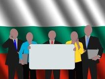 bulgarian affärslag royaltyfri illustrationer
