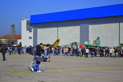 Bulgarian Air Force Open Doors Stock Images