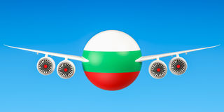 Bulgarian airlines  Stock Photo