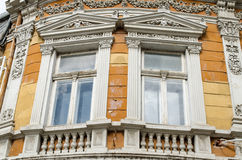 Bulgarian architecture style Royalty Free Stock Photography