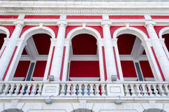 Bulgarian architecture style Stock Photos