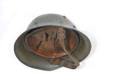 Bulgarian battle helmet Stock Image
