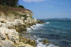 Bulgarian black sea Stock Images