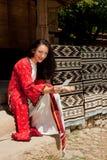 bulgarian bokstav Royaltyfria Bilder