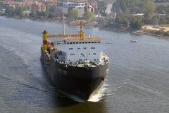 Bulgarian cargo ship GEROITE NA ODESSA Royalty Free Stock Images