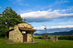 Bulgarian chapel Stock Photos