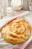Bulgarian cheese pastry Stock Images