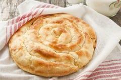 Bulgarian cheese pastry Stock Photo