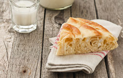 Bulgarian cheese pastry Stock Image
