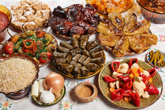 Bulgarian Christmas food Royalty Free Stock Photography