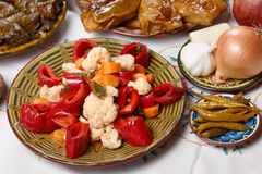 Bulgarian Christmas food Royalty Free Stock Images