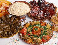 Bulgarian Christmas food Stock Photos