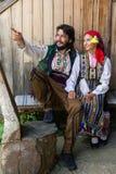 Bulgarian costumes Royalty Free Stock Image