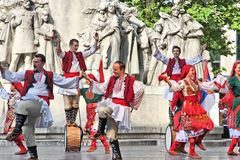 Bulgarian culture in Hungary Stock Photography