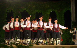 Bulgarian dancers Stock Image