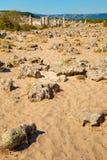 Bulgarian Desert Landscape Stock Images