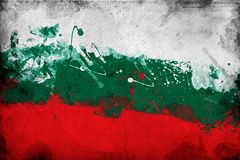 Bulgarian flag Stock Photography