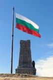 bulgarian flagę Fotografia Royalty Free