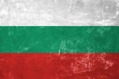 Bulgarian Flag royalty free stock photos